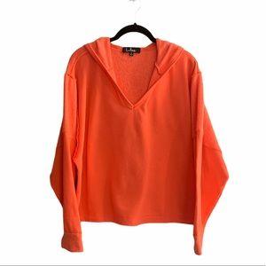 Lulus Pullover Split Neck Sweatshirt NWT